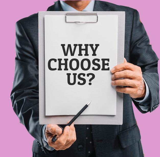 why choose us-