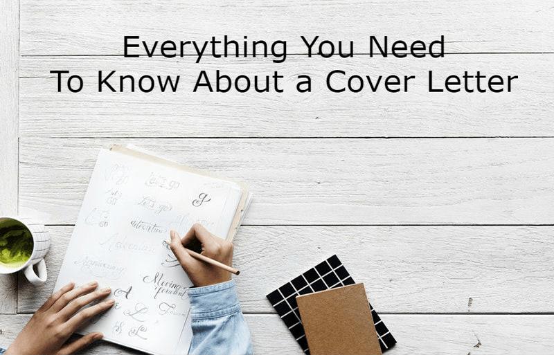 cover letter tutorial